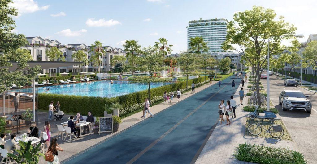 Stella Mega City - khu công viên nước mát mẻ.