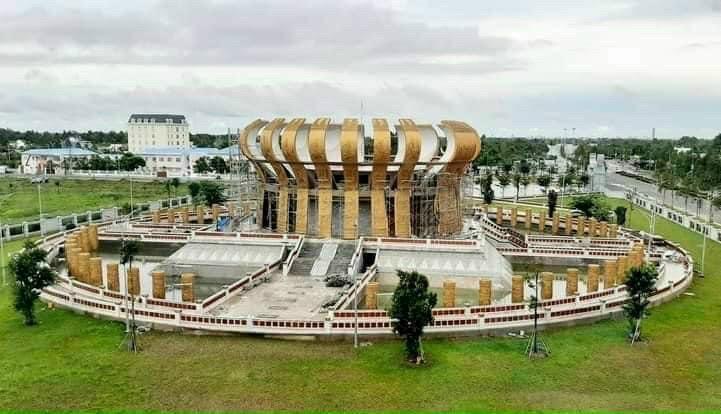 Tiến độ Đền thờ Vua Hùng dự án Stella Mega City