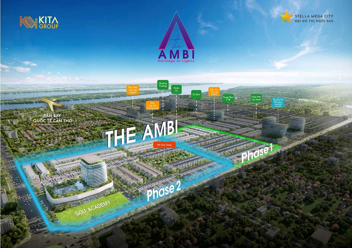 Phối cảnh The Ambi Stella Mega City